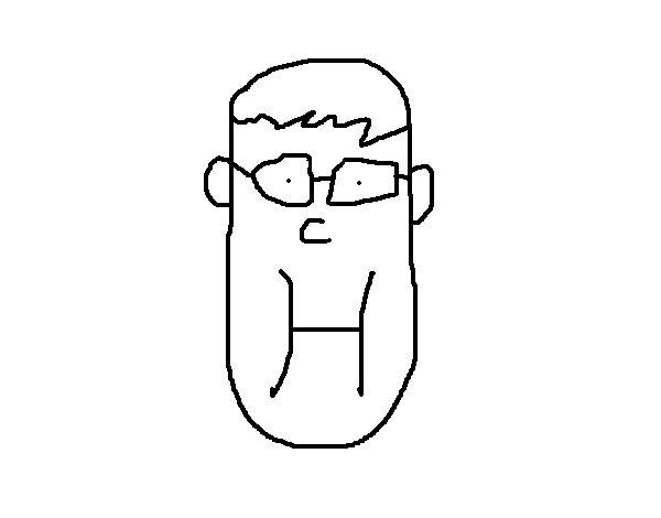 Dibujo de Pepi feliz para Colorear
