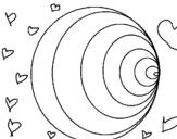 Dibujo de Redondas para colorear