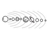 Dibujo de Sistema solar