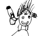 Dibujo de Skylanders Imaginators Adriel 4 para colorear