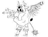 Dibujo de Skylanders Imaginators de Ana2 para colorear