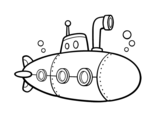 Dibujo de Submarino espía