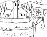 Dibujo de Suecia para colorear