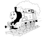 Dibujo de Thomas a toda máquina para colorear