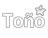 Dibujo de Tono para colorear