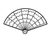Dibujo de Un abanico
