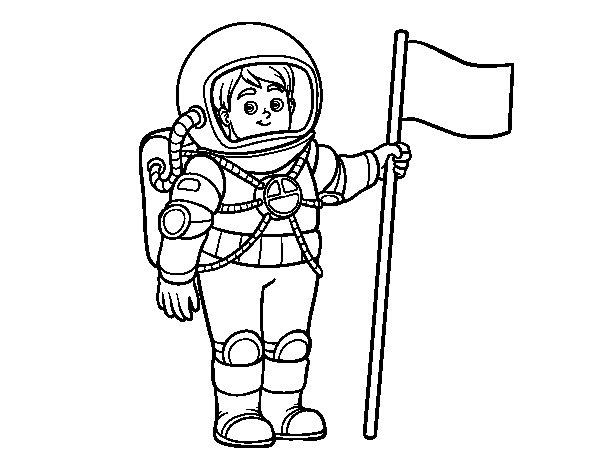 Dibujos De Astronautas Para Imprimir - Unifeed.club