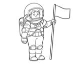 Dibujo de Un astronauta