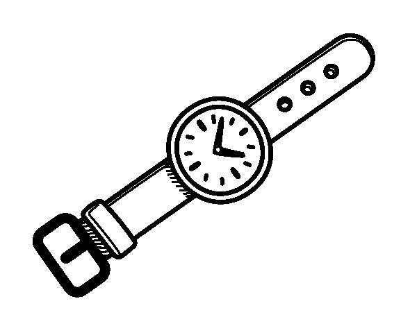 Dibujos de relojes para colorear actividades el reloj for Imagenes de relojes