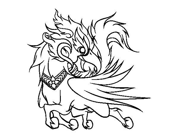 Dibujo de Ussadorn vihok para Colorear