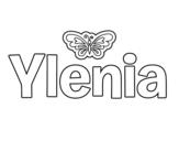 Dibujo de Ylenia para colorear