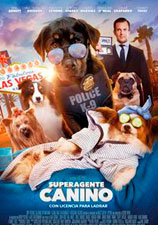 Cartel Superagente canino