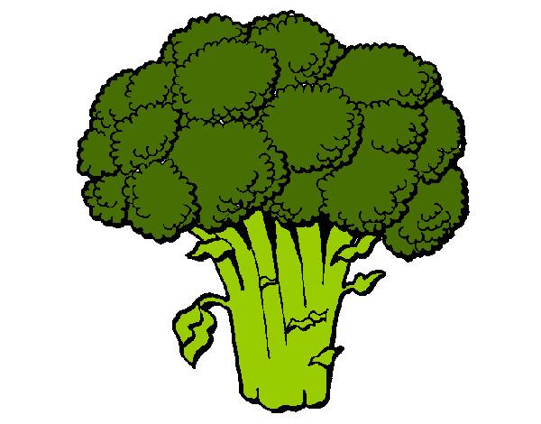 Dibujos De Brócolis Para Colorear