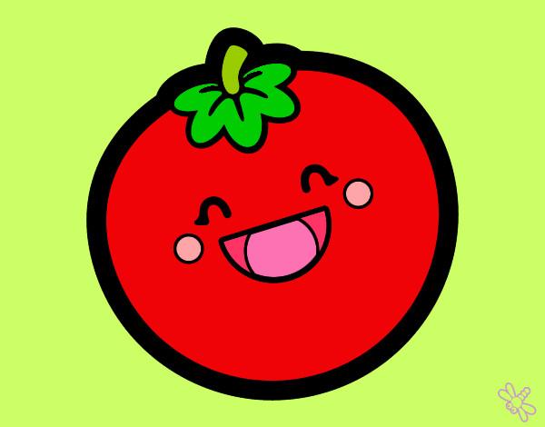 Dibujos De Tomates Para Colorear Dibujos Net