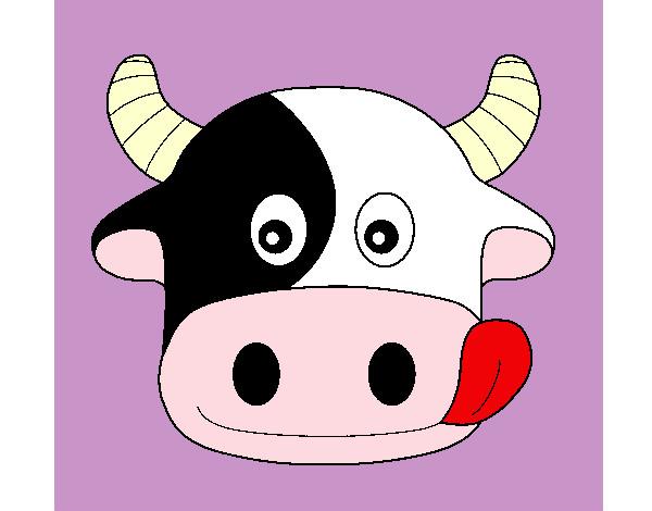 Dibujos De Vacas Para Colorear Dibujosnet