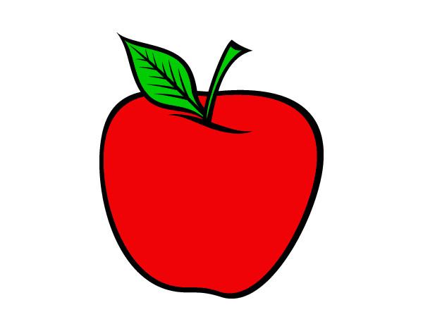 Dibujos De Manzanas Para Colorear Dibujosnet