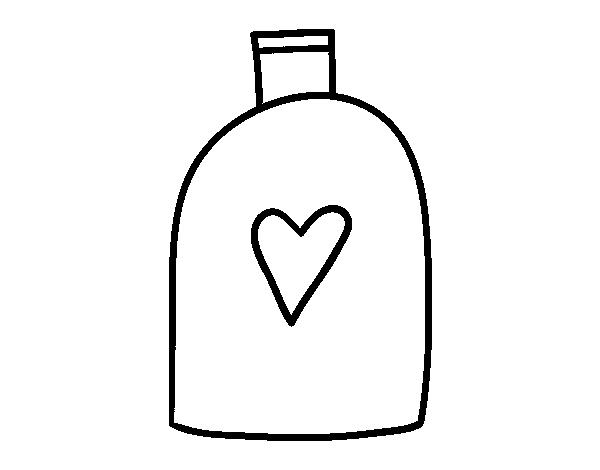 Dibujo De Champú Para Colorear Dibujosnet
