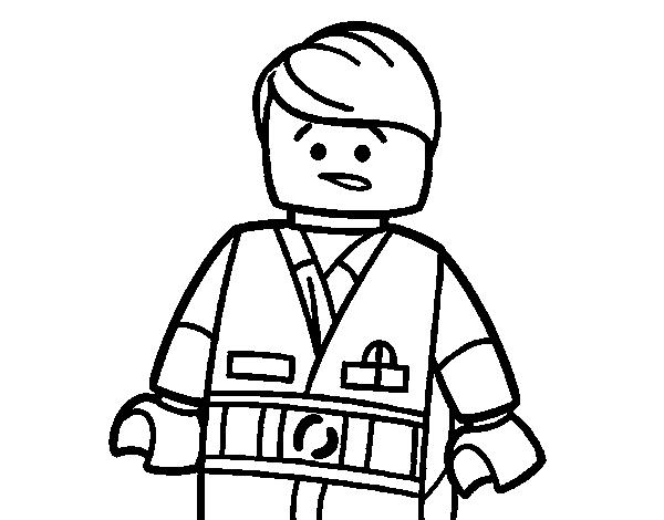 Excelente Personaje De Lego Para Colorear Imágenes - Páginas Para ...