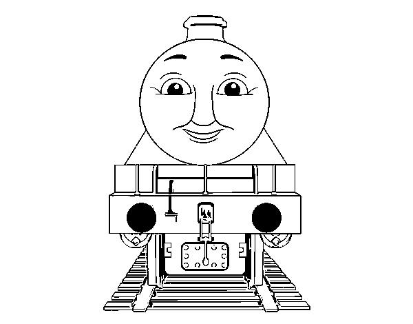 Dibujo de Henry de Thomas y sus amigos para Colorear - Dibujos.net