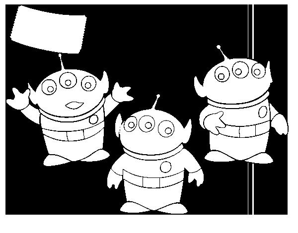 Dibujo de Los Aliens para Colorear - Dibujos.net