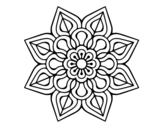 Dibujo De Mandala Frutal Para Colorear Dibujosnet