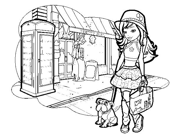dibujos para colorear nancy
