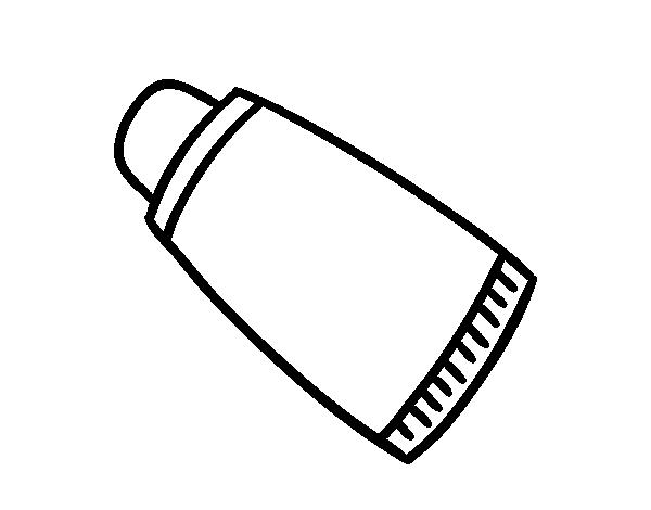 Dibujo de Pasta de dientes para Colorear - Dibujos.net