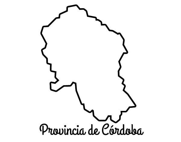 Dibujo de Provincia de Córdoba para Colorear   Dibujos.net