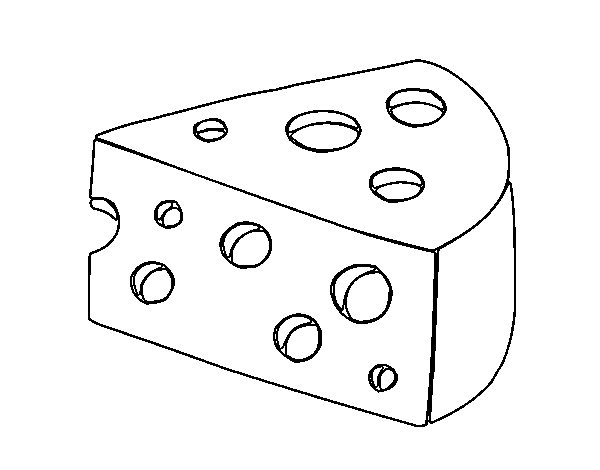 queso para colorear - Ukran.agdiffusion.com