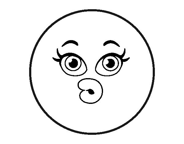 Dibujo de Smiley dudoso para Colorear - Dibujos.net