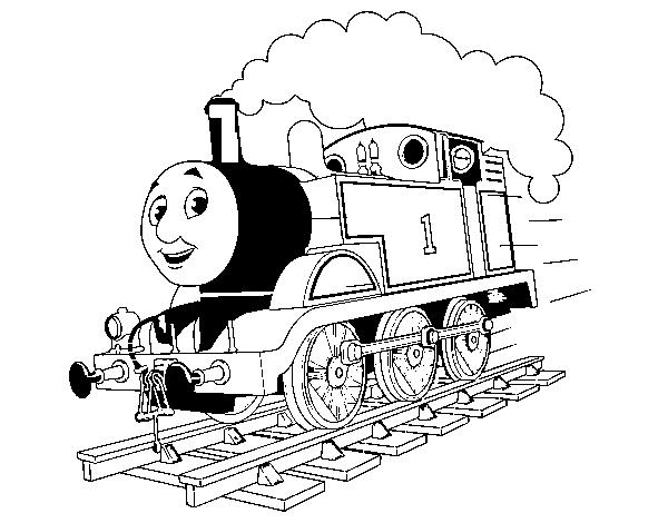 kleurplaat thomas de trein gordon ausmalbilder
